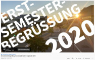 Begrüßungsfolie des Youtube-Livestreams